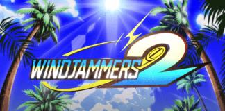Le logo de Windjammers 2 à l'occasion de la démo sur Steam