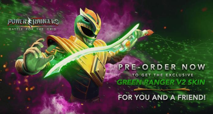 édition collector physique Power Rangers : Battle for the Grid le 8 octobre