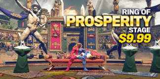 Le niveau en DLC du Capcom Pro Tour 2020 : Ring of Prosperity