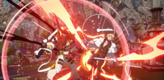 Sol Badguy effectuant un Roman Cancel sur Ky Kiske dans Guilty Gear: Strive