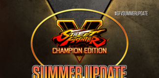 L'affiche de la summer update de Street Fighter V: Champion Edition