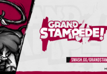 Le logo du tournoi Grand Stampede de Them Fightin Herds