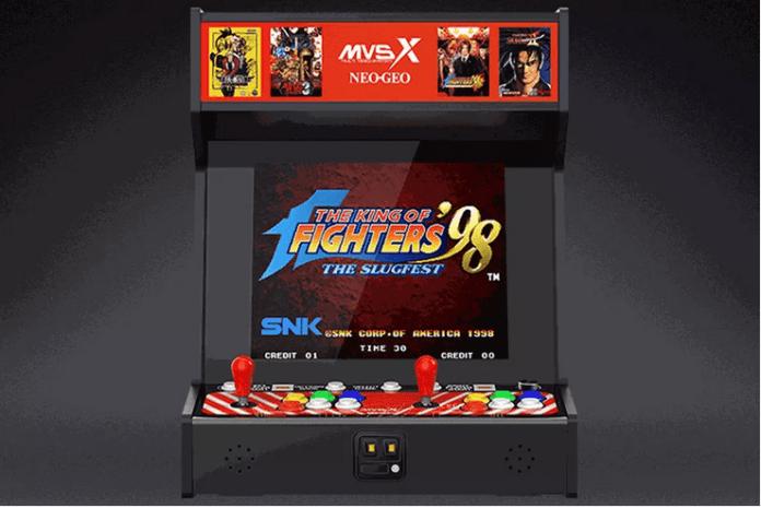 MVSX nouvelle borne d'arcade retro SNK