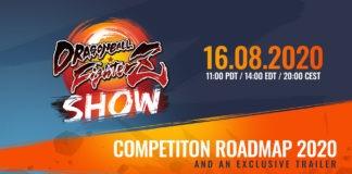 Affiche du DBFZ Show avec la date du 16 août 2020