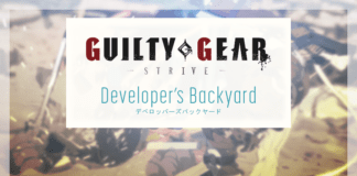 Le logo du developer's backyard pour Guilty Gear: Strive