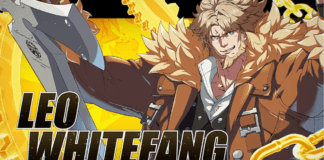 Leo Whitefang Guilty Gear : Strive