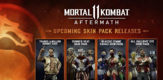pack de skins d'halloween pour Mortal Kombat 11 : Aftermath