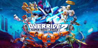 Le logo d'Override 2: Super Mech League