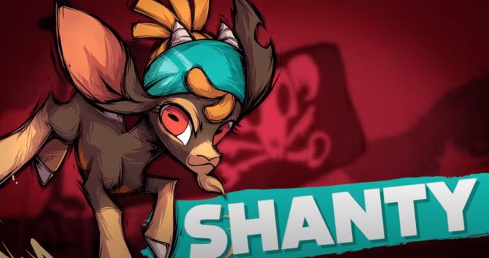 Le nouveau personnage additionnel de Them's Fightin' Herds : Shanty
