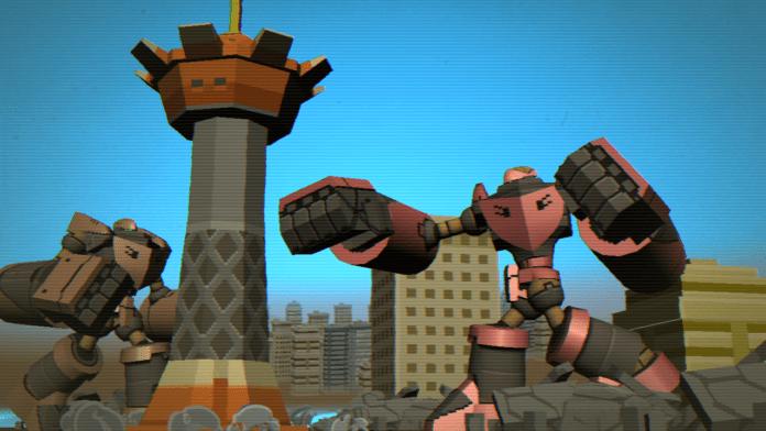 Demolition Robots K.K bande annonce jeu vidéo japonais indépendant Mecha