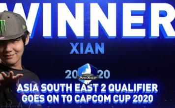 Capcom Pro Tour Online 2020 Asie du Sud-Est seconde manche gagnant Xian Razer