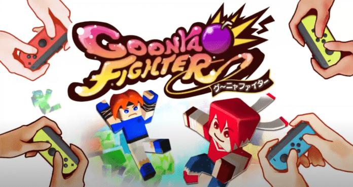 Le logo du jeu Goonya Fighters