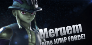 Le personnage DLC de Jump Force Meruem