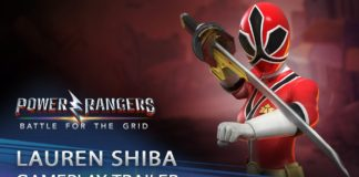 Lauren Shiba arrive le 15 septembre sur Power Rangers : Battle for the Grid
