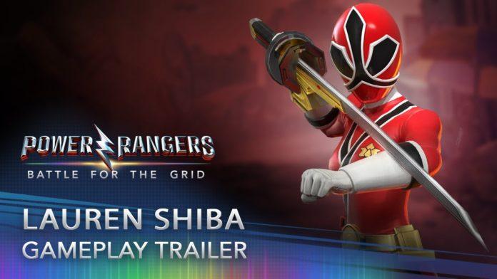 Lauren Shiba arrive le 15 septembre sur Power Rangers : Battle for the Grid