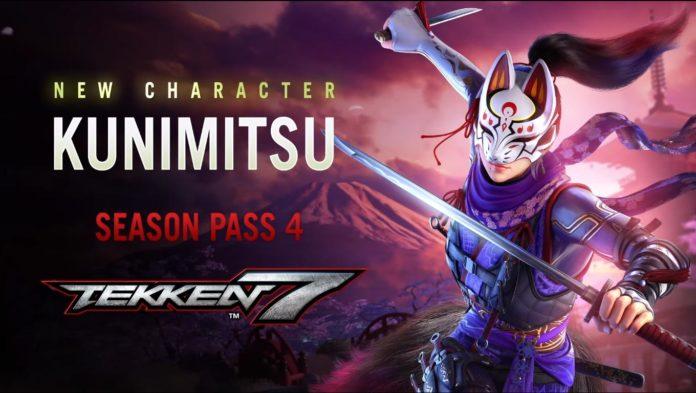 Kunimitsu sera le premier DLC de la saison 4 de Tekken 7