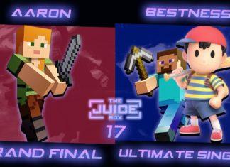 Aaron remporte un tournoi en ligne super smash bros ultimate avec Alex