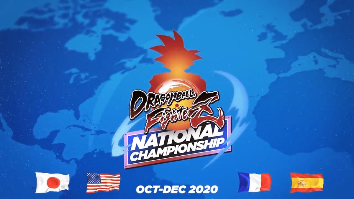 Premiers résultats du dragon ball fighterz national championship