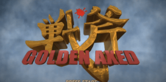 Le logo du jeu de Sega Golden Axed: A Cancelled Prototype