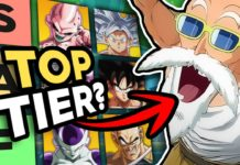 HookGangGod nouvelle tier list pour la version 3.5 de Dragon Ball FighterZ