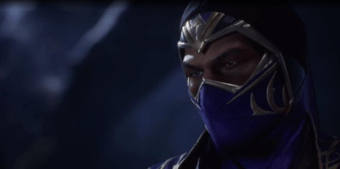 Le visage du personnage de Rain pour Mortal Kombat 11: Ultimate