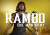 Le personnage DLC de MK11: Ultimate John Rambo avec en titre One Man Army