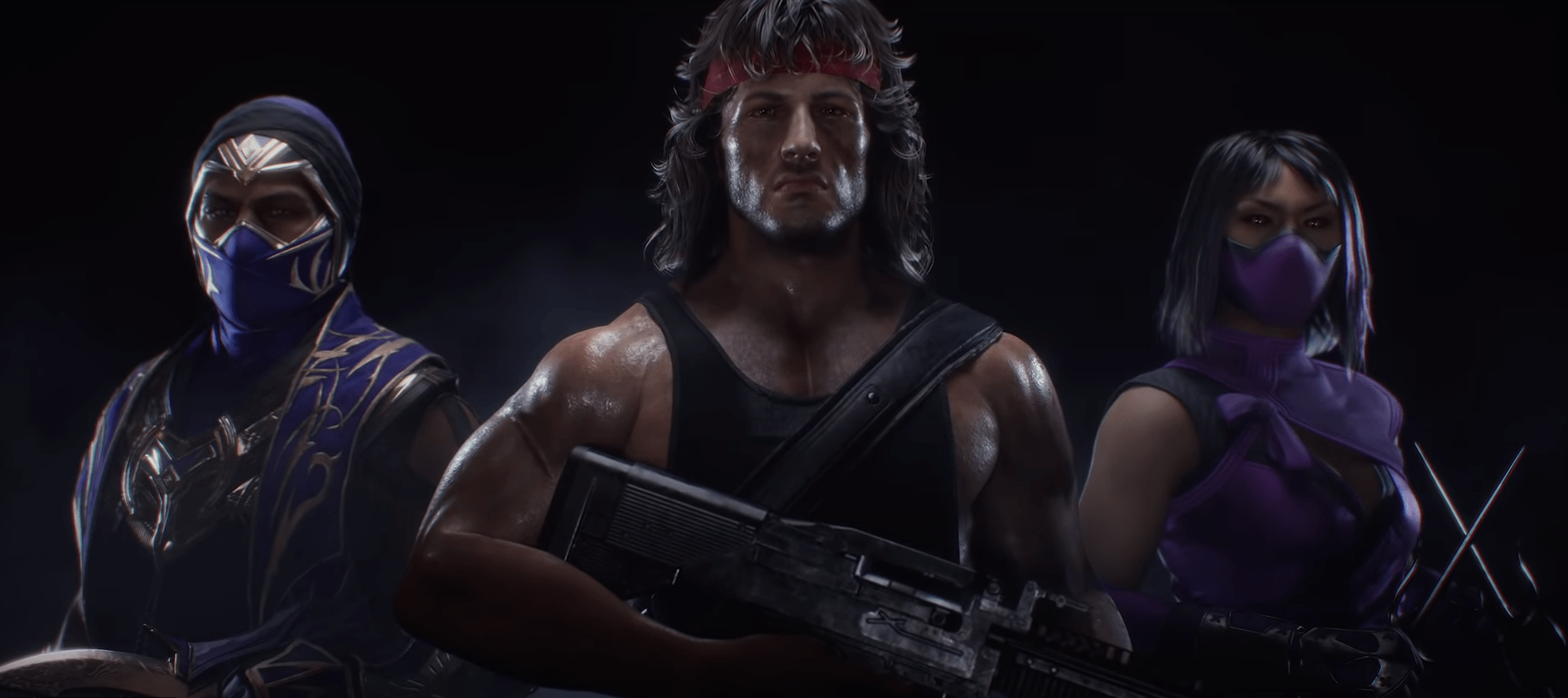 John Rambo, Rain et Mileena pour le Kombat Pack 2 de Mortal Kombat 11: Ultimate