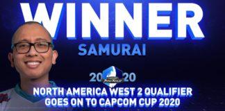 Le gagnant du second tour du CPTO2020 de la Côte Ouest de l'Amerique du Nord : Samuraifgc