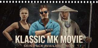 Les trois personnages du DLC MK Film Klassique pour Mortal Kombat 11