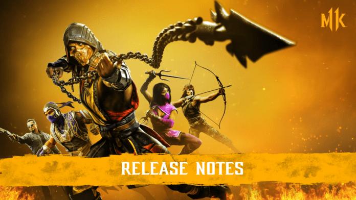 Mortal Kombat 11 Ultimate détails de la mise à jour