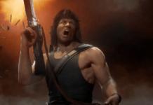 Mortal Kombat 11 combo Rambo