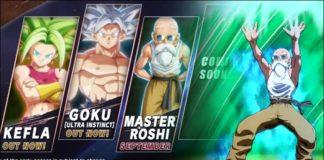 Dragon Ball FighterZ prochain DLC annoncé le 20 décembre
