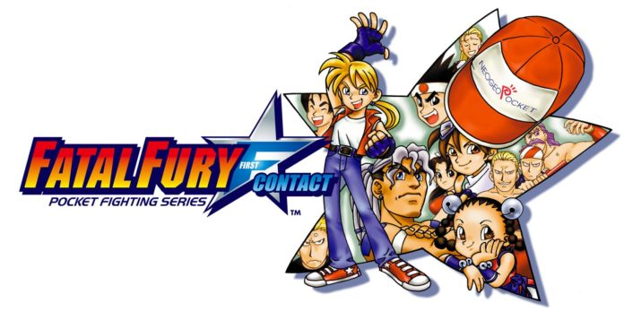 Le logo Fatal Fury First Contact
