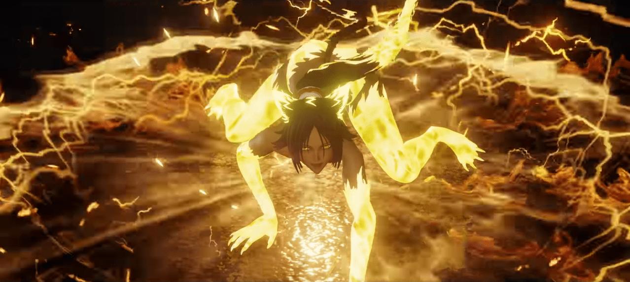 bande-annonce officielle de yoruichi shorouin Bleach Jump Force