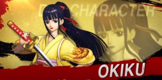 Le personnage en DLC de One Piece: Pirate Warriors 4 Okiku en kimono jaune