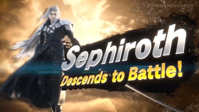 Sephiroth Smash Bros Ultimate
