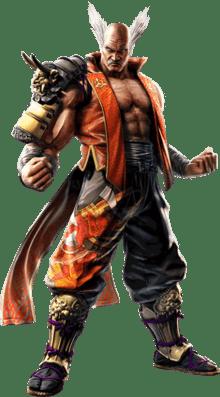 Le personnage de Tekken Heihachi Mishima
