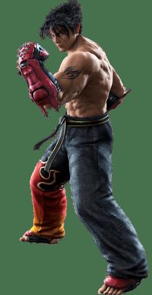Le personnage de Tekken 3 Jin Kazama