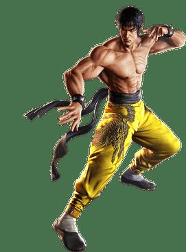 Le personnage de Tekken Marshall Law