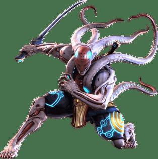Le personnage de Tekken Yoshimitsu