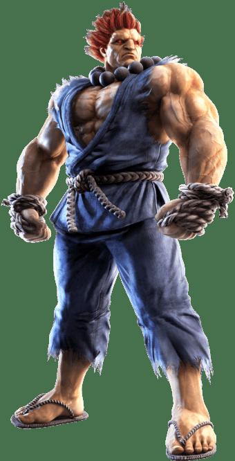 Le personnage de Tekken 7 Akuma