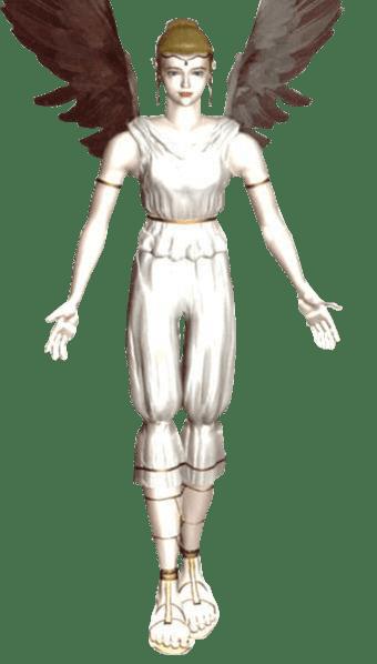 Le personnage de Tekken 2 Angel