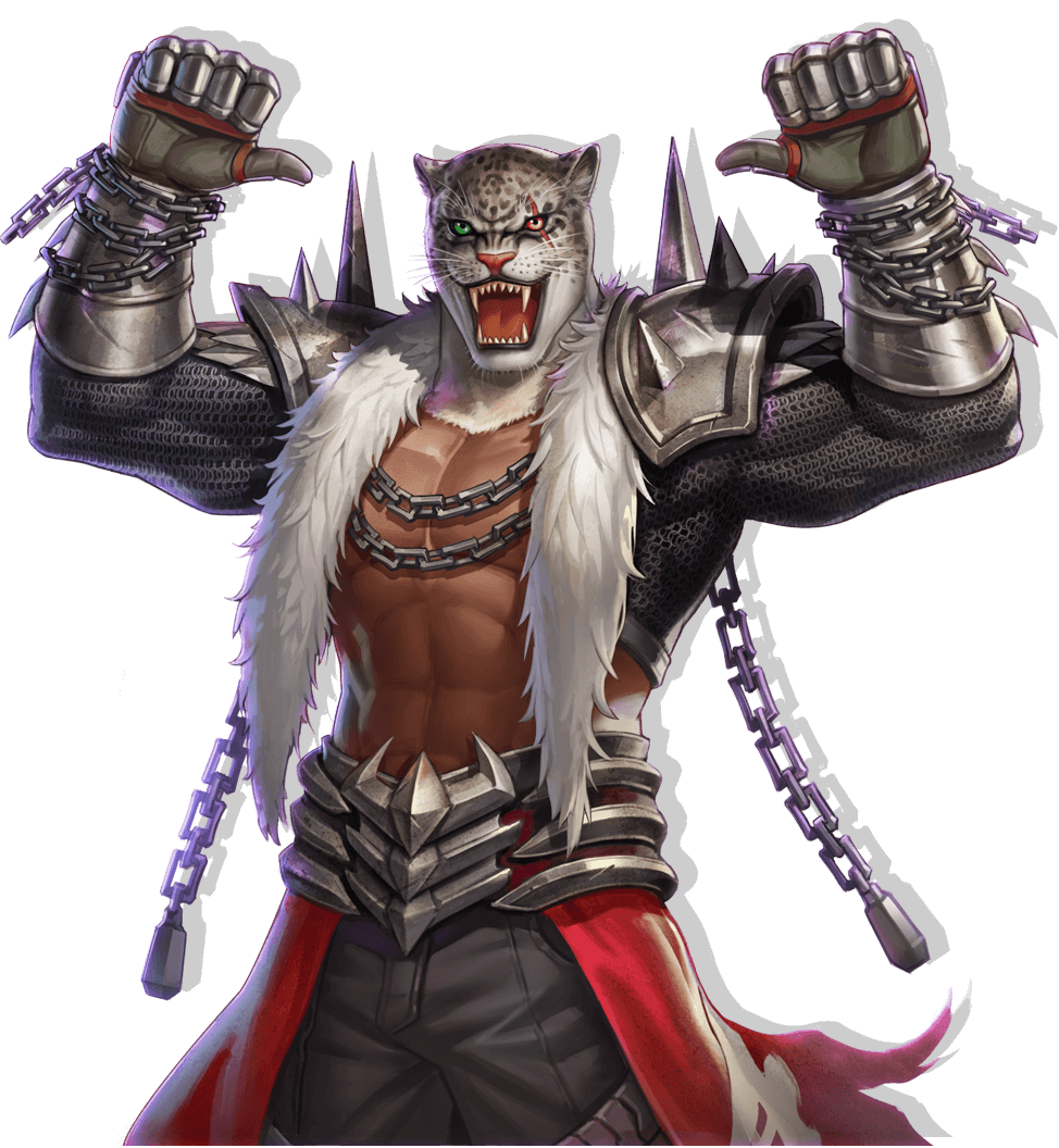 Le personnage de Tekken Armor King