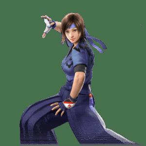 Le personnage de Tekken 5 Asuka Kazama