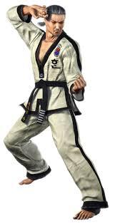 Le personnage de Tekken 2 Baek Doo San