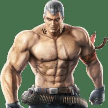 Le personnage de Tekken 3 Bryan Fury