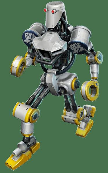 Le personnage de Tekken 4 Combot