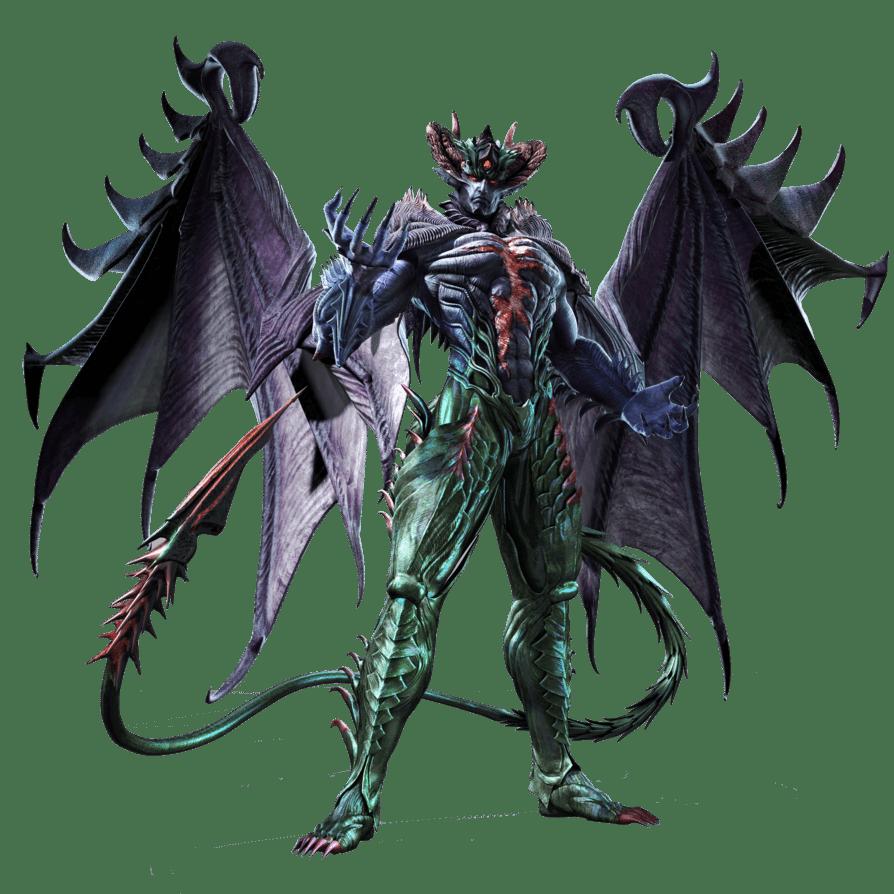 Le personnage de Tekken Devil