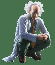 Le personnage de tekken 3 docteur bosconovitch