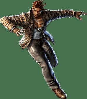 Le personnage de Tekken 3 Eddy Gordo
